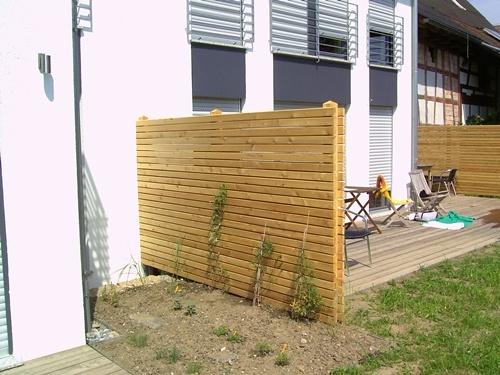 gartenzaun holz sichtschutz – rekem, Garten und Bauen