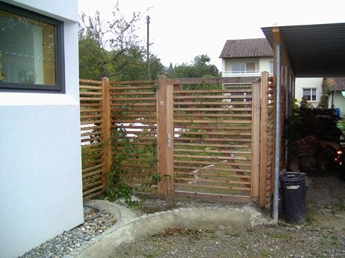 Sichtschutzzaun Holz Hornbach ~ Gartenzaun Holz Sichtschutz 5 Pictures to pin on Pinterest