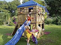 Klettergerüst Douglasie : Playhaus spielturm douglasie