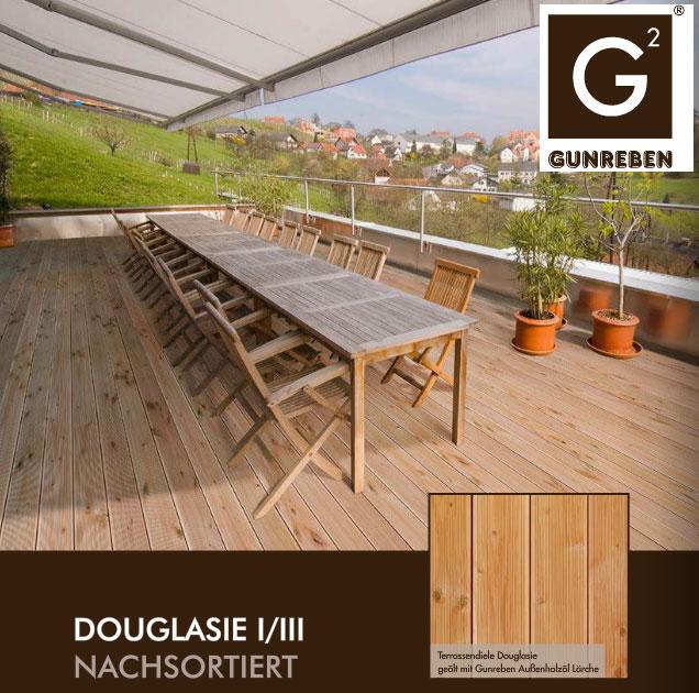 Terrassen len Douglasie Glatt CARPROLA for